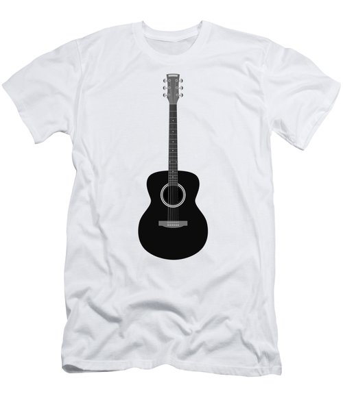 Men's T-Shirt (Slim Fit) featuring the digital art Guitar by Michal Boubin