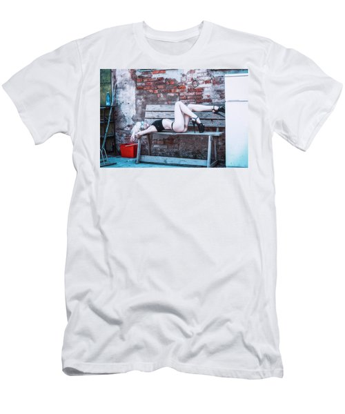 Men's T-Shirt (Athletic Fit) featuring the photograph Kelevra by Traven Milovich