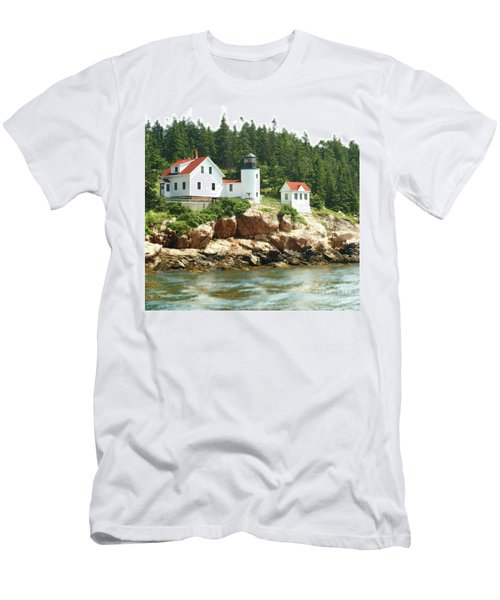 Lighthouse Men's T-Shirt (Athletic Fit)