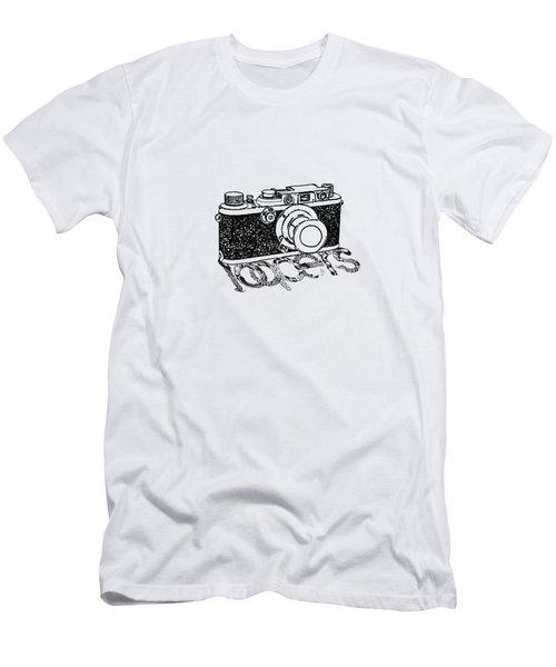 Rangefinder Camera Men's T-Shirt (Slim Fit) by Setsiri Silapasuwanchai