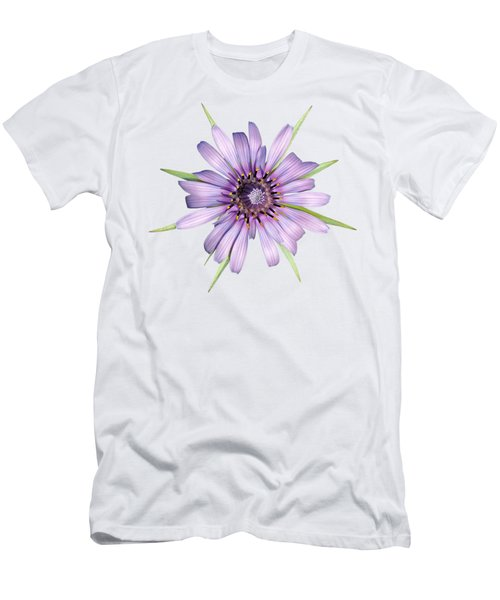 Salsify Flower Men's T-Shirt (Athletic Fit)