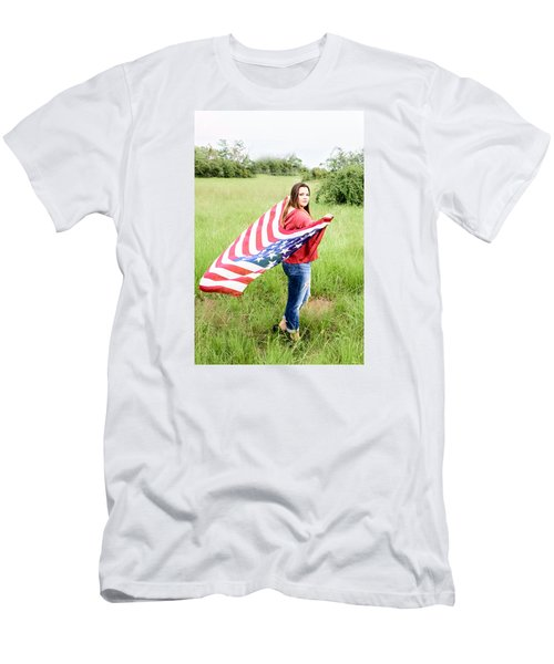 Men's T-Shirt (Slim Fit) featuring the photograph 5644-2 by Teresa Blanton