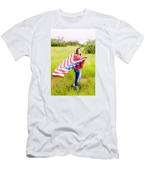 Men's T-Shirt (Slim Fit) featuring the photograph 5644 by Teresa Blanton