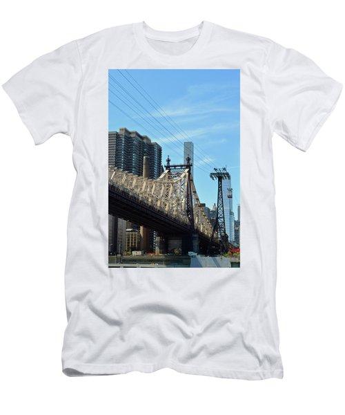 59th Street Bridge No. 4 Men's T-Shirt (Slim Fit) by Sandy Taylor