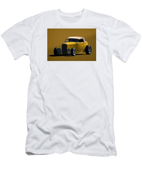 1932 Ford Roadster Hot Rod Men's T-Shirt (Slim Fit) by Tim McCullough