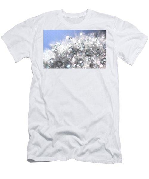 Drops Men's T-Shirt (Slim Fit) by Sylvie Leandre