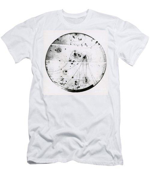 Proton-photon Collision Men's T-Shirt (Athletic Fit)