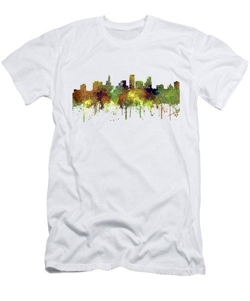 St Paul Minnesota Skyline Men's T-Shirt (Athletic Fit)