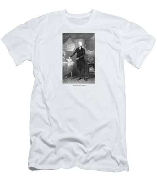 Thomas Jefferson Men's T-Shirt (Slim Fit) by War Is Hell Store