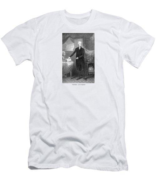 Thomas Jefferson Men's T-Shirt (Athletic Fit)