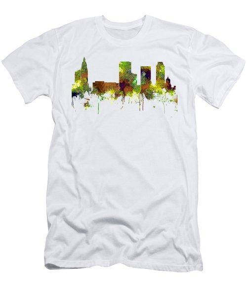 Tulsa Oklahoma Skyline Men's T-Shirt (Athletic Fit)