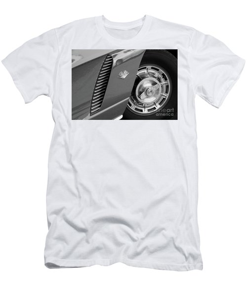 Men's T-Shirt (Slim Fit) featuring the photograph '62 In Black And White by Dennis Hedberg