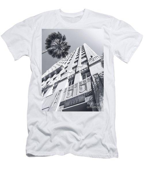 6253 Hollywood At Vine Men's T-Shirt (Athletic Fit)