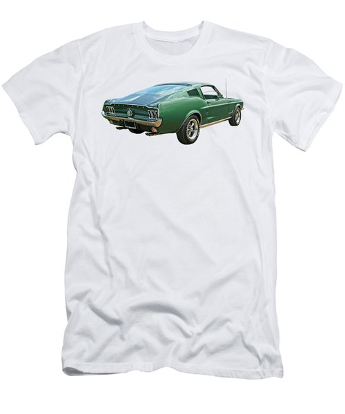 67 Mustang Fastback Men's T-Shirt (Athletic Fit)
