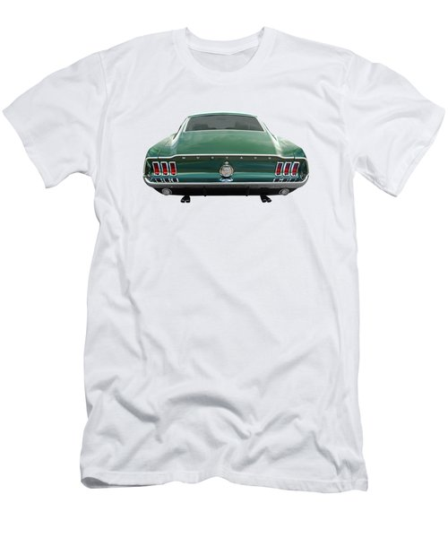 67 Mustang Fastback Rear Men's T-Shirt (Athletic Fit)