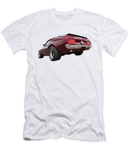 '69 Mustang Rear Men's T-Shirt (Athletic Fit)