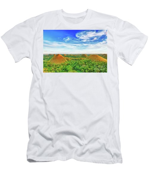 Chocolate Hills Men's T-Shirt (Athletic Fit)