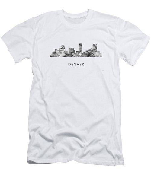 Denver Colorado Skyline Men's T-Shirt (Athletic Fit)