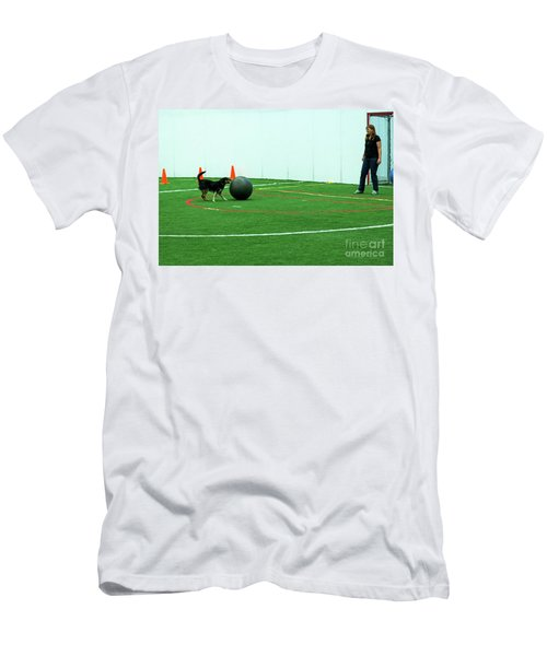 Men's T-Shirt (Athletic Fit) featuring the photograph Donna And Molly by Fred Stearns
