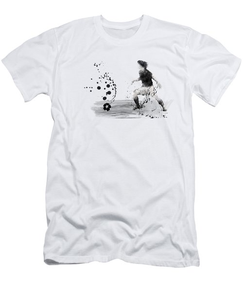 Football Player Men's T-Shirt (Athletic Fit)