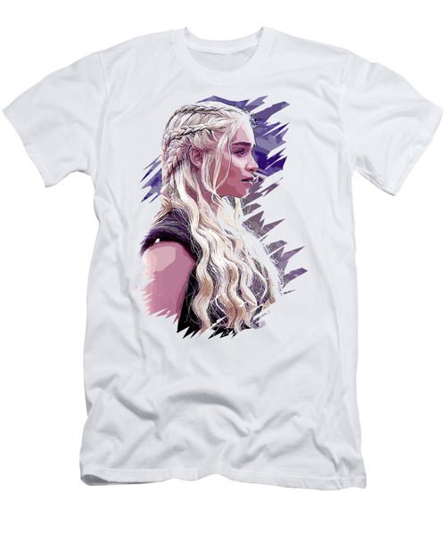 Game Of Thrones. Daenerys Men's T-Shirt (Athletic Fit)