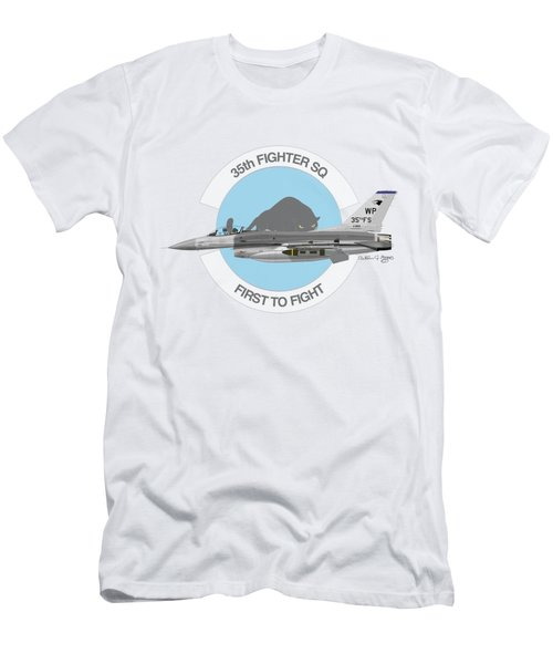 Lockheed Martin F-16c Viper Men's T-Shirt (Athletic Fit)