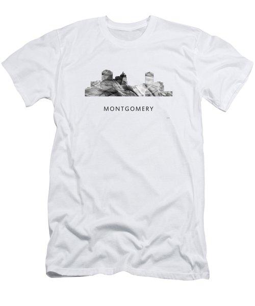 Montgomery Alabama Skyline Men's T-Shirt (Athletic Fit)