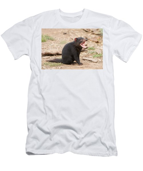 Tasmanian Devil Men's T-Shirt (Athletic Fit)
