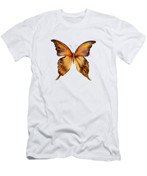 7 Yellow Gorgon Butterfly Men's T-Shirt (Athletic Fit)