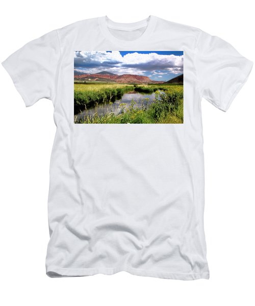 Capitol Reef National Park Men's T-Shirt (Athletic Fit)