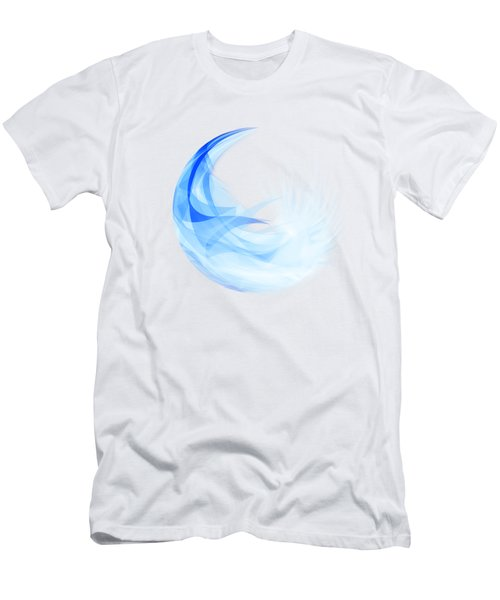 Abstract Feather Men's T-Shirt (Athletic Fit)