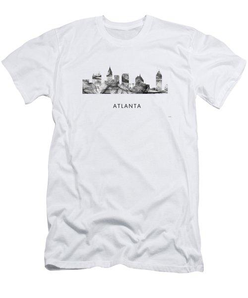 Atlanta Georgia Skyline Men's T-Shirt (Athletic Fit)