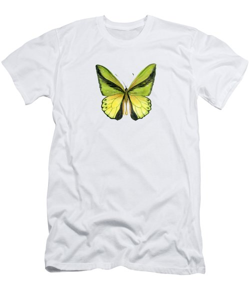 8 Goliath Birdwing Butterfly Men's T-Shirt (Athletic Fit)