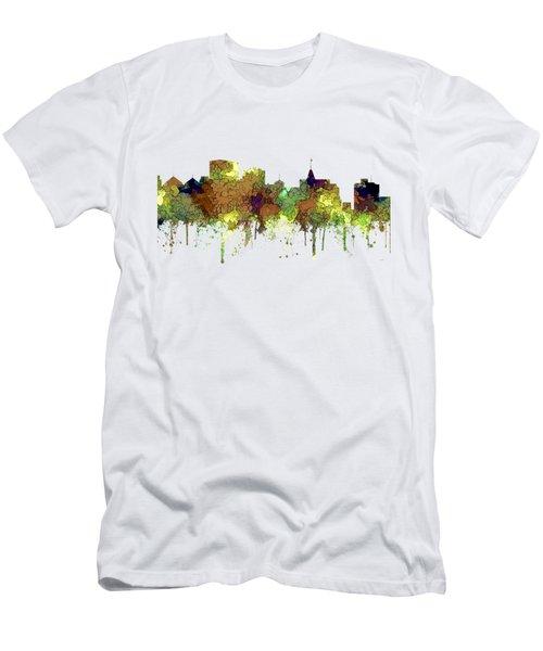 Oakland California Skyline Men's T-Shirt (Athletic Fit)