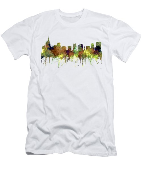 Orlando Florida Skyline Men's T-Shirt (Athletic Fit)