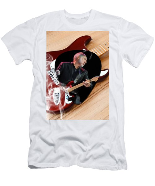 Pete Townshend Art Men's T-Shirt (Slim Fit) by Marvin Blaine