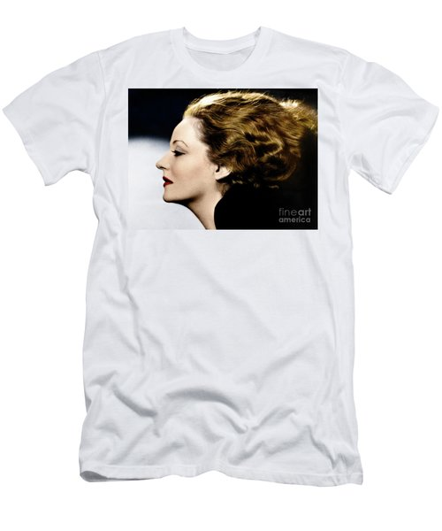 Men's T-Shirt (Athletic Fit) featuring the photograph Tallulah Bankhead by Granger