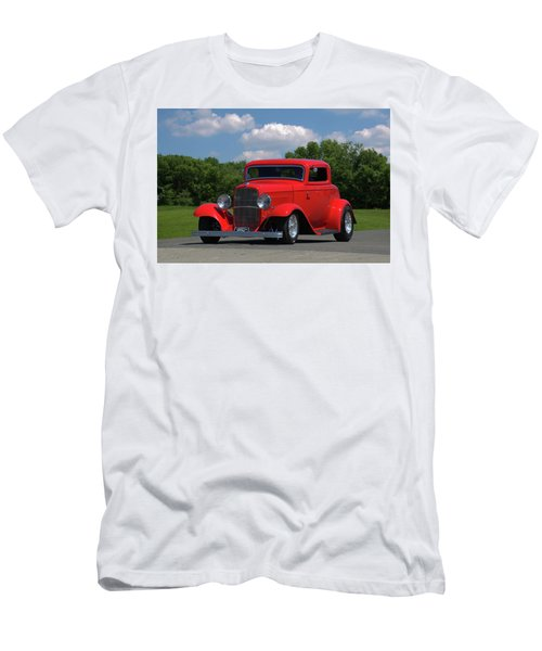 1932 Ford Coupe Hot Rod Men's T-Shirt (Slim Fit) by Tim McCullough