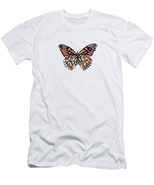 9 Mexican Silver Spot Butterfly Men's T-Shirt (Athletic Fit)