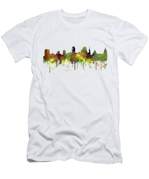Sacramento California Skyline Men's T-Shirt (Athletic Fit)