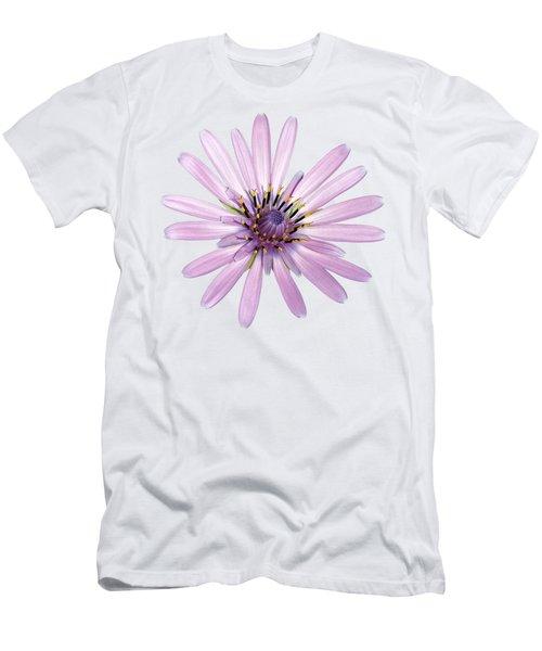 Salsify Flower Men's T-Shirt (Slim Fit) by George Atsametakis