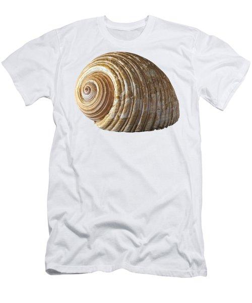 Sea Shell Men's T-Shirt (Slim Fit) by George Atsametakis