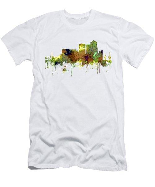 Tucson Arizona Skyline Men's T-Shirt (Athletic Fit)