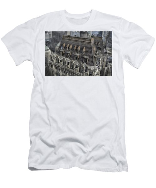 90 West - West Street Building Men's T-Shirt (Athletic Fit)