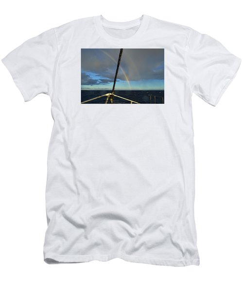 A Beautiful Day Men's T-Shirt (Slim Fit) by James McAdams