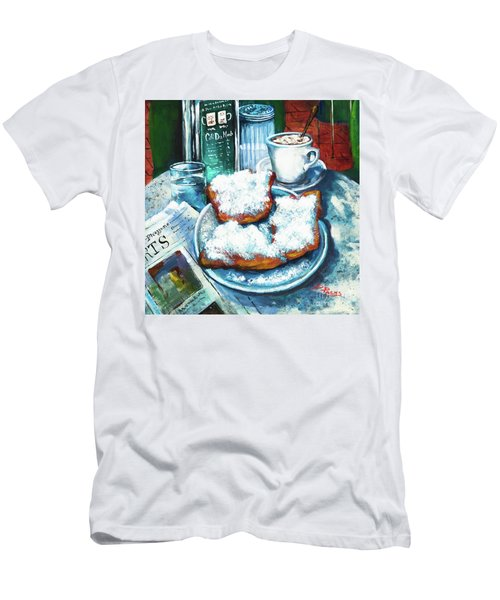 A Beignet Morning Men's T-Shirt (Athletic Fit)