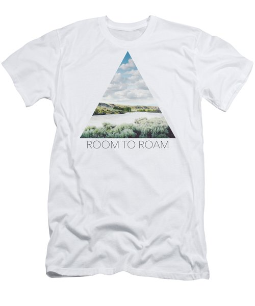 A Bend In The Yellowstone Men's T-Shirt (Athletic Fit)