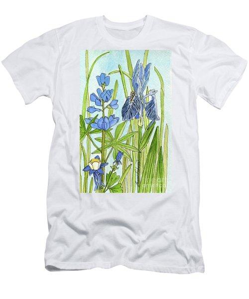 A Blue Garden Men's T-Shirt (Athletic Fit)