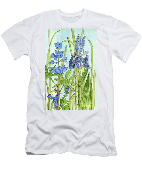 A Blue Garden Men's T-Shirt (Athletic Fit)