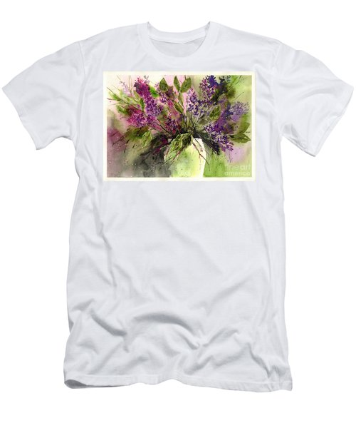 A Bouquet Of May-lilacs Men's T-Shirt (Athletic Fit)
